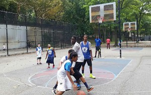 Tennis and Basketball Day-Camp in Riverside Park-Layups