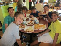 Julian Krinsky Tennis Camp-Lunch