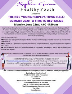 Young Peoples Town Hall